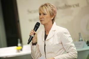 Wirtschaftsmoderation Andrea Müller auf der Regionalkonferenz November 2012