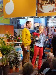 CMT grünzeug-Auftritt Andrea Müller und Volker Kugel