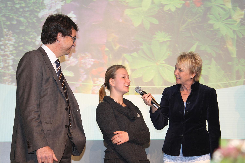 Andrea Mueller Moderation der Jahreshauptversammlung des Landschaftsgärtnerverbandes, Filderhalle Leinfelden-Echterdingen, März 2015